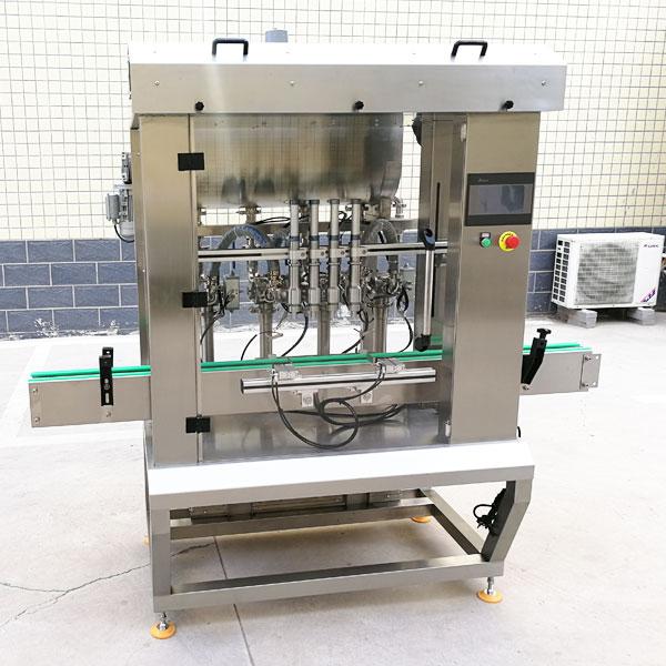 全自动酱料生产线-酱料加工生产设备细节展示